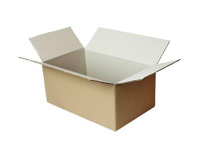close up of carton  box  post package photo