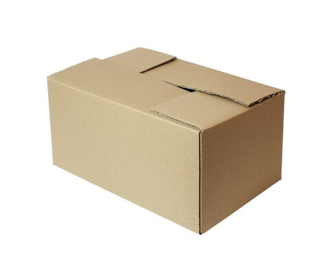 close up of carton  box  post package Stock Photo - 5336830