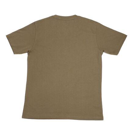 close up of  t shirt on white background Stock Photo - 5664977