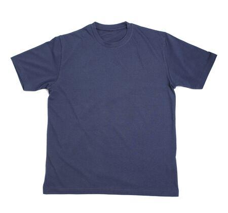 close up of  t shirt on white background Stock Photo - 5664975