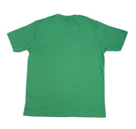 close up of  t shirt on white background Stock Photo - 5758431