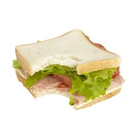 close up of sandwich photo