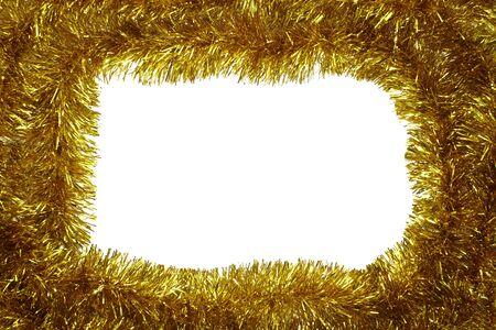 close up of christmas decoration on white background  photo