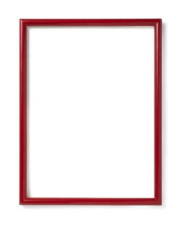 wooden frame for painting or picture on white background with clipping path Stock Photo - 6336855