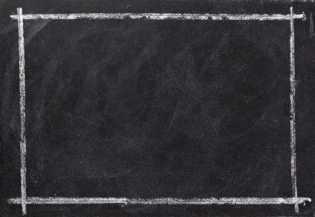 planche: gros plan du tableau noir