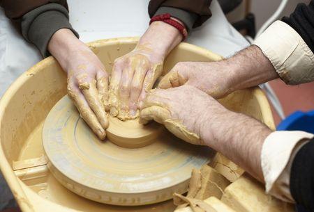 pottery close up photo