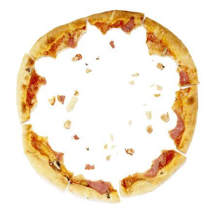 miettes: fermeture de chapelure de pizza