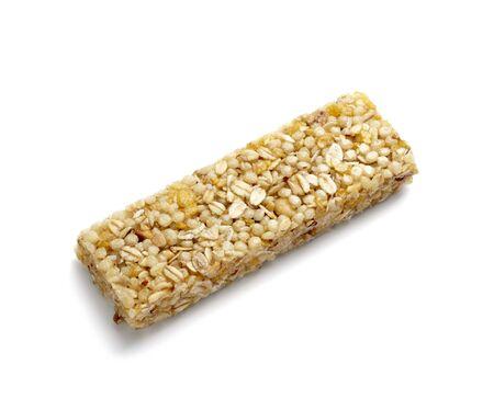 close up of muesli bar snack photo