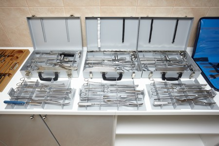 close up of surgery equipment Stock Photo - 7350008