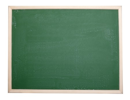 close up of an empty  chalk board Stock Photo - 7625973