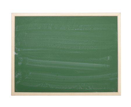close up of an empty  chalk board Stock Photo - 7706261