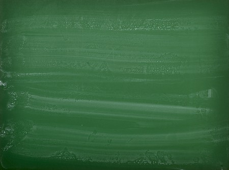 close up of an empty  chalk board Stock Photo - 7706258