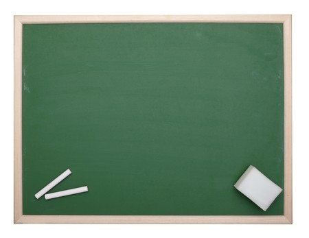 close up of an empty  chalk board  Stock Photo - 7832617