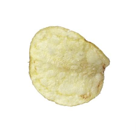close up of potato chips photo