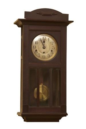 close up of an old antique clock  Stock Photo - 8102729