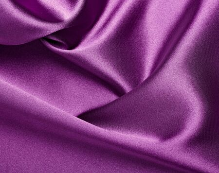 close up of purple silk textured cloth background Stock Photo - 8572368