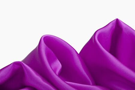 close up of purple silk textured cloth background Stock Photo - 8863137