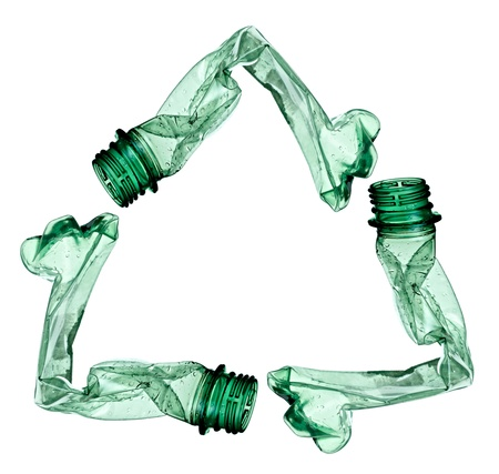 plastic waste: plastic bottle