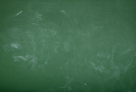 chalk board background: close up of an empty school chalkboard