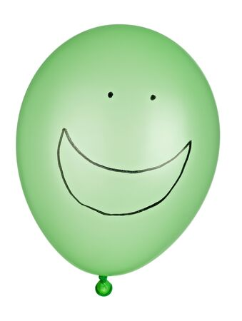 air baloon: close up of balloon on white background  Stock Photo