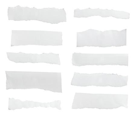 papeles oficina: libro blanco arrancado fondo de mensaje