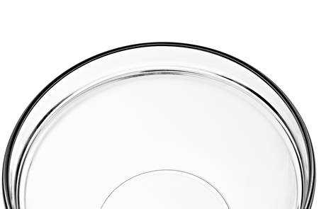 close up of a glass bowl on white background with clipping path Stock Photo - 9152004