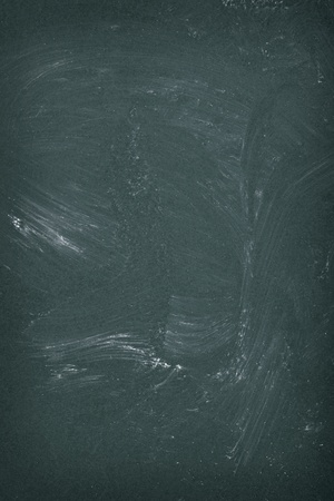 close up of an empty school chalkboard photo