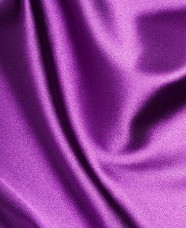 close up of purple silk textured cloth background Stock Photo - 9390599