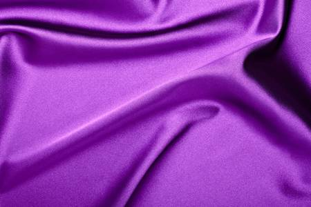 close up of purple silk textured cloth background Stock Photo - 9390601