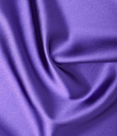 close up of purple silk textured cloth background photo
