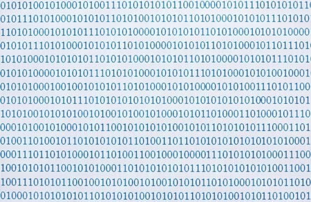 close up of binary numbers background pattern photo