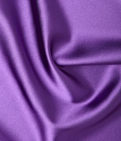 close up of purple silk textured cloth background Stock Photo - 9591004