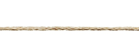 rope background: close up of a rope on white background with clipping path