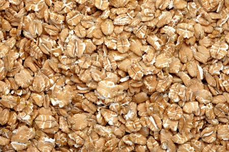 close up of a wheat flakes background photo