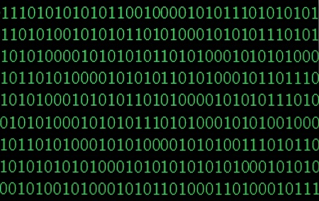 close up of binary numbers background pattern Stock Photo - 9916888