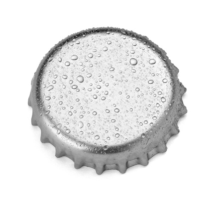 close up of  a bottle cap on white background  Stock Photo - 9916802