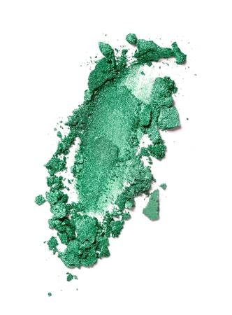 blush: close up of  a make up powder on white background
