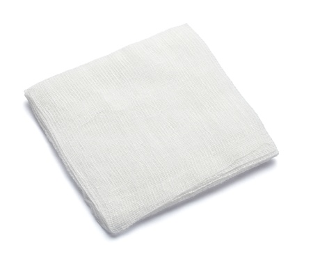 close up of bandage on white background with clipping path Stock Photo - 10885288