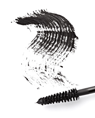 close up of black mascara on white background Stock Photo - 11007151