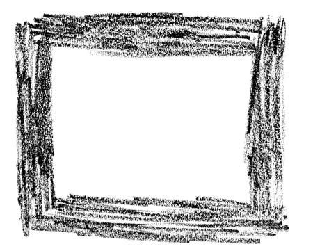 kratzspuren: Nahaufnahme von einem Bleistiftstrich auf wei�em Hintergrund Lizenzfreie Bilder