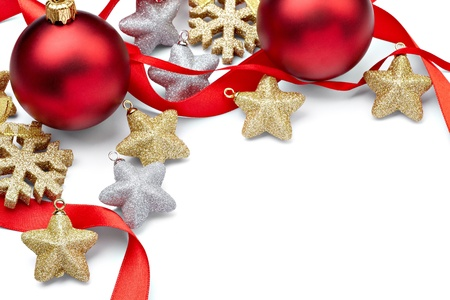 close up of  christmas decoration photo