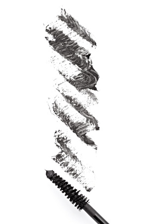 close up of black mascara on white background Stock Photo - 11554498