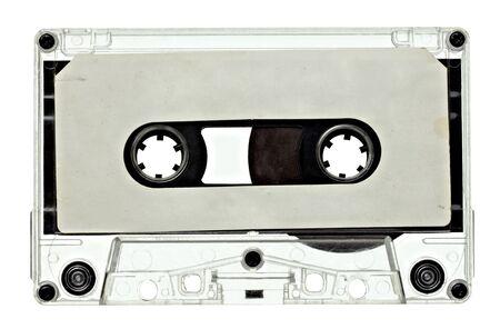 close up of vintage audio tape  photo