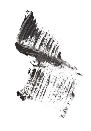 close up of black mascara on white background Stock Photo - 12650207