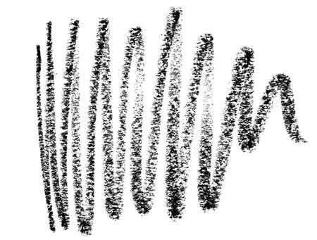 disegni a matita: Close up di un tratto di matita su sfondo bianco