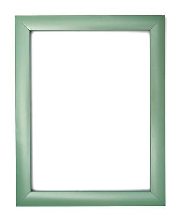 Baroque picture frame: cadre en bois pour la peinture ou une photo sur fond blanc avec chemin de d�tourage