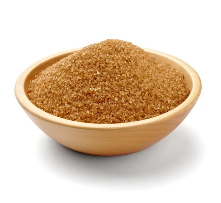 brown: close up of  brown sugar  Stock Photo