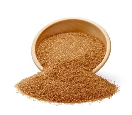 close up of  brown sugar  photo