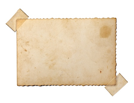 흰색 배경에 오래 된 사진까지