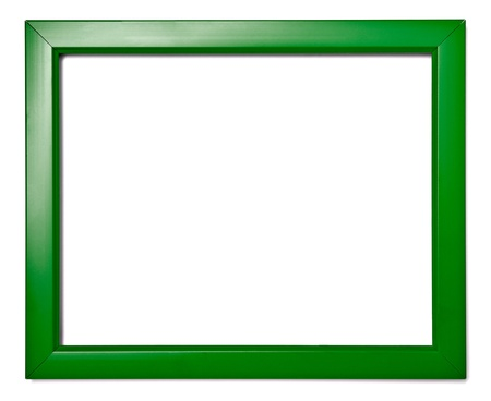 wooden frame for painting or picture on white background Stock Photo - 13751596